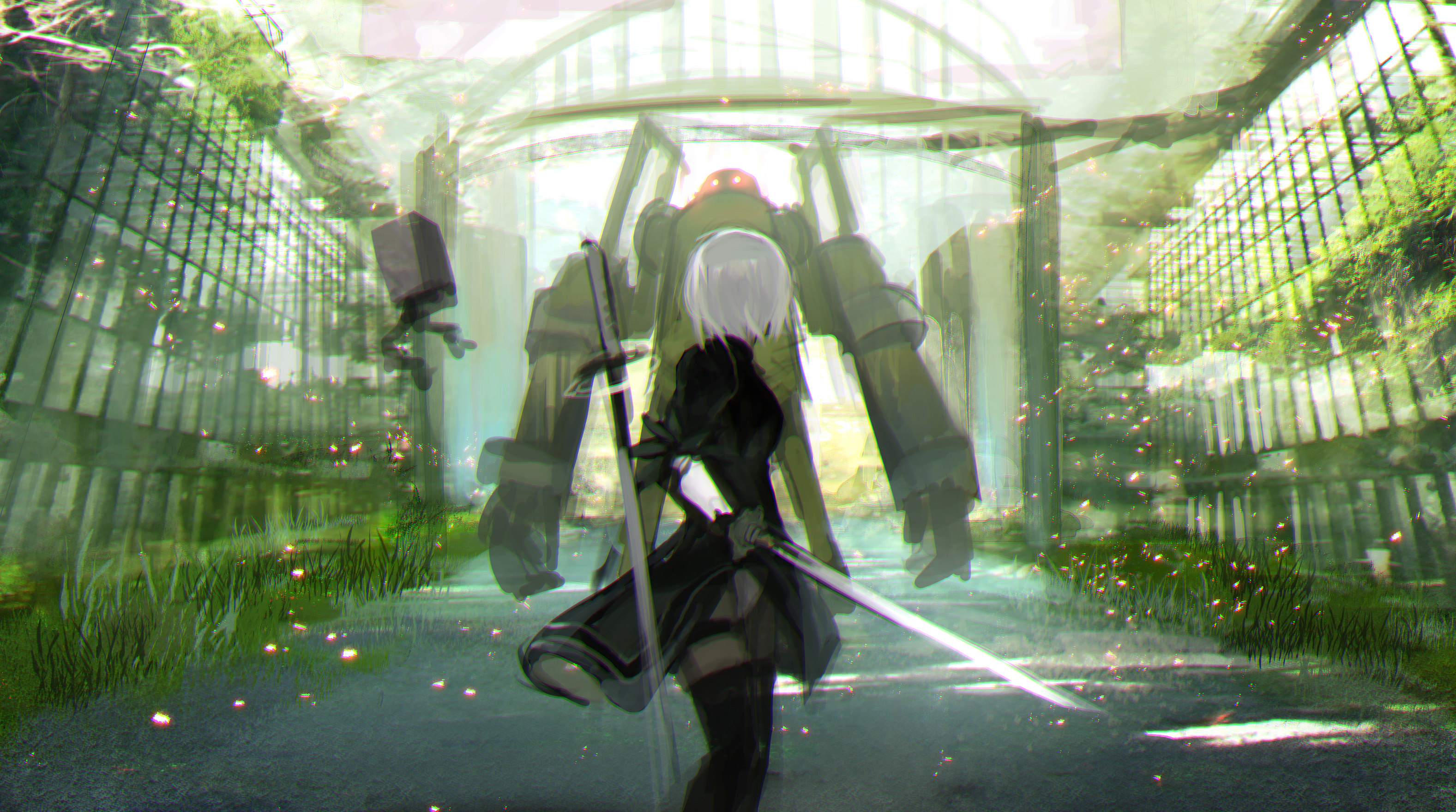 Nier Automata Wallpapers Or Desktop Backgrounds: 94 NieR: Automata HD Wallpapers