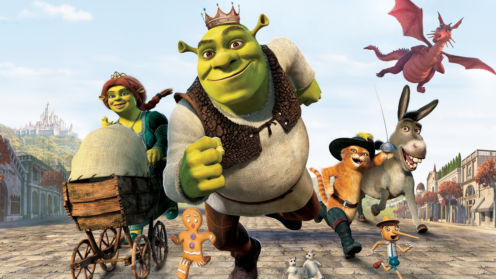 Movie - Shrek the Third  Wallpaper
