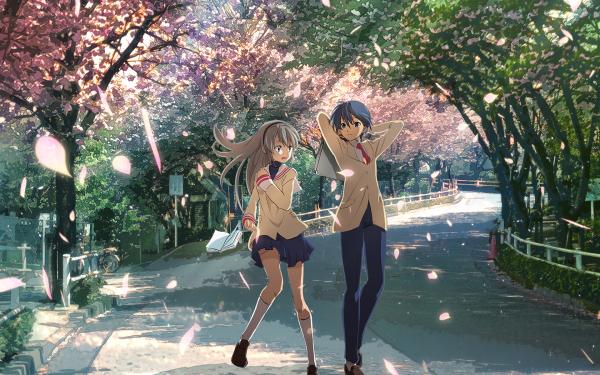 Anime Clannad Tomoya Okazaki Tomoyo Sakagami HD Wallpaper | Background Image