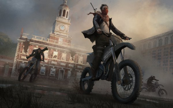 Video Game Homefront: The Revolution Motorcycle Building HD Wallpaper   Background Image