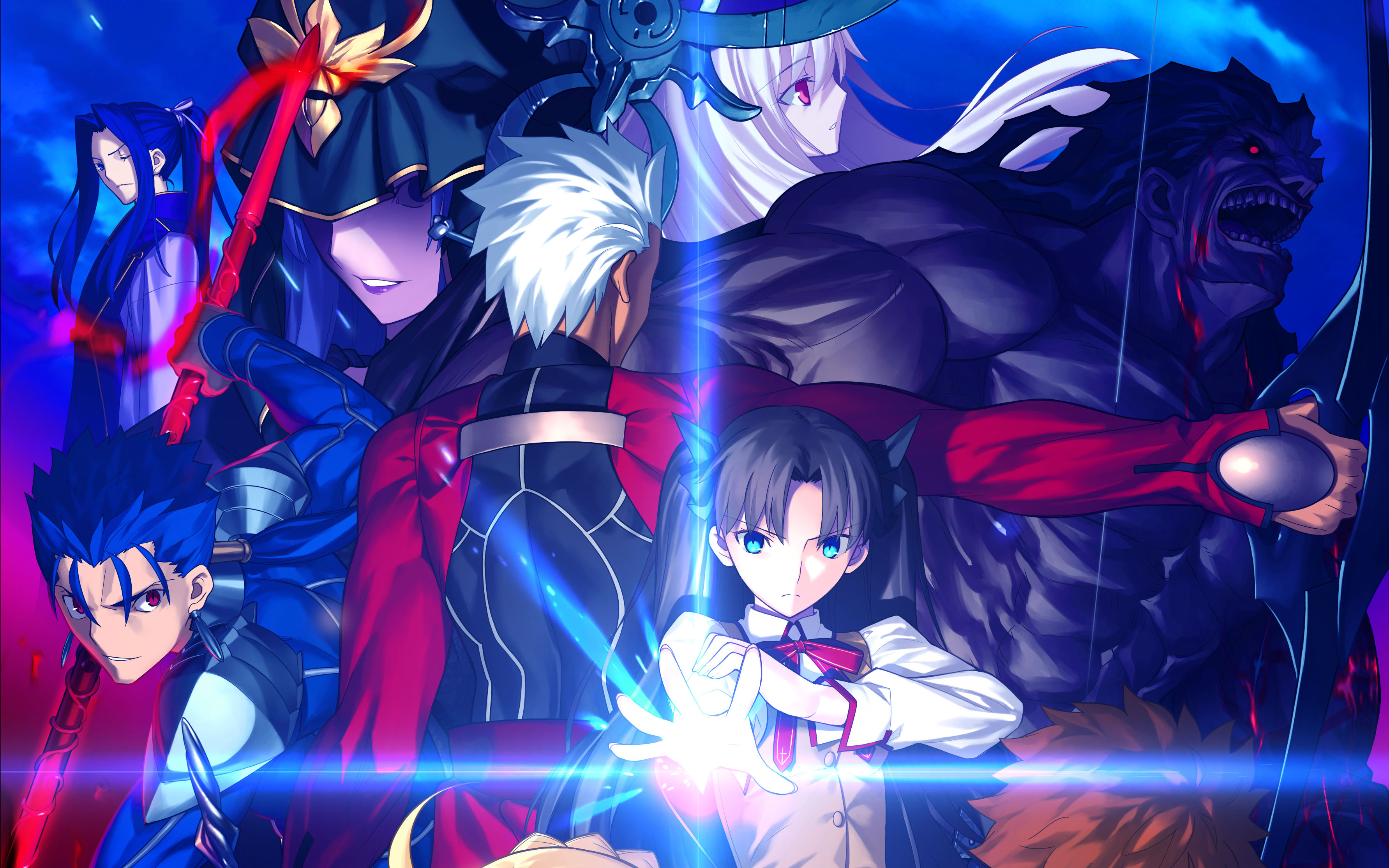 26 Caster Fate Stay Night Hd Wallpapers Background Images