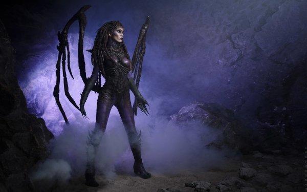 Women Cosplay Starcraft II Sarah Kerrigan HD Wallpaper | Background Image