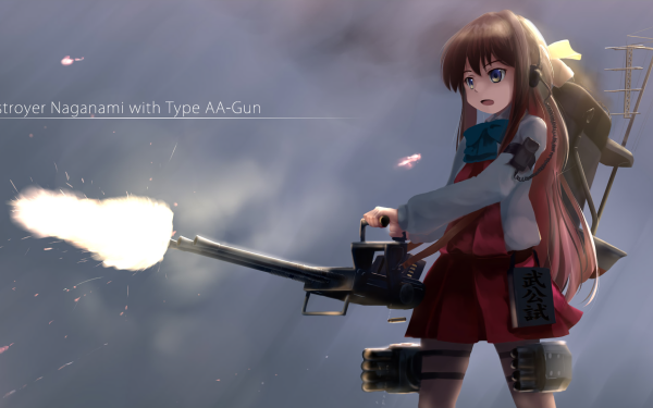 Anime Kantai Collection Naganami HD Wallpaper   Background Image