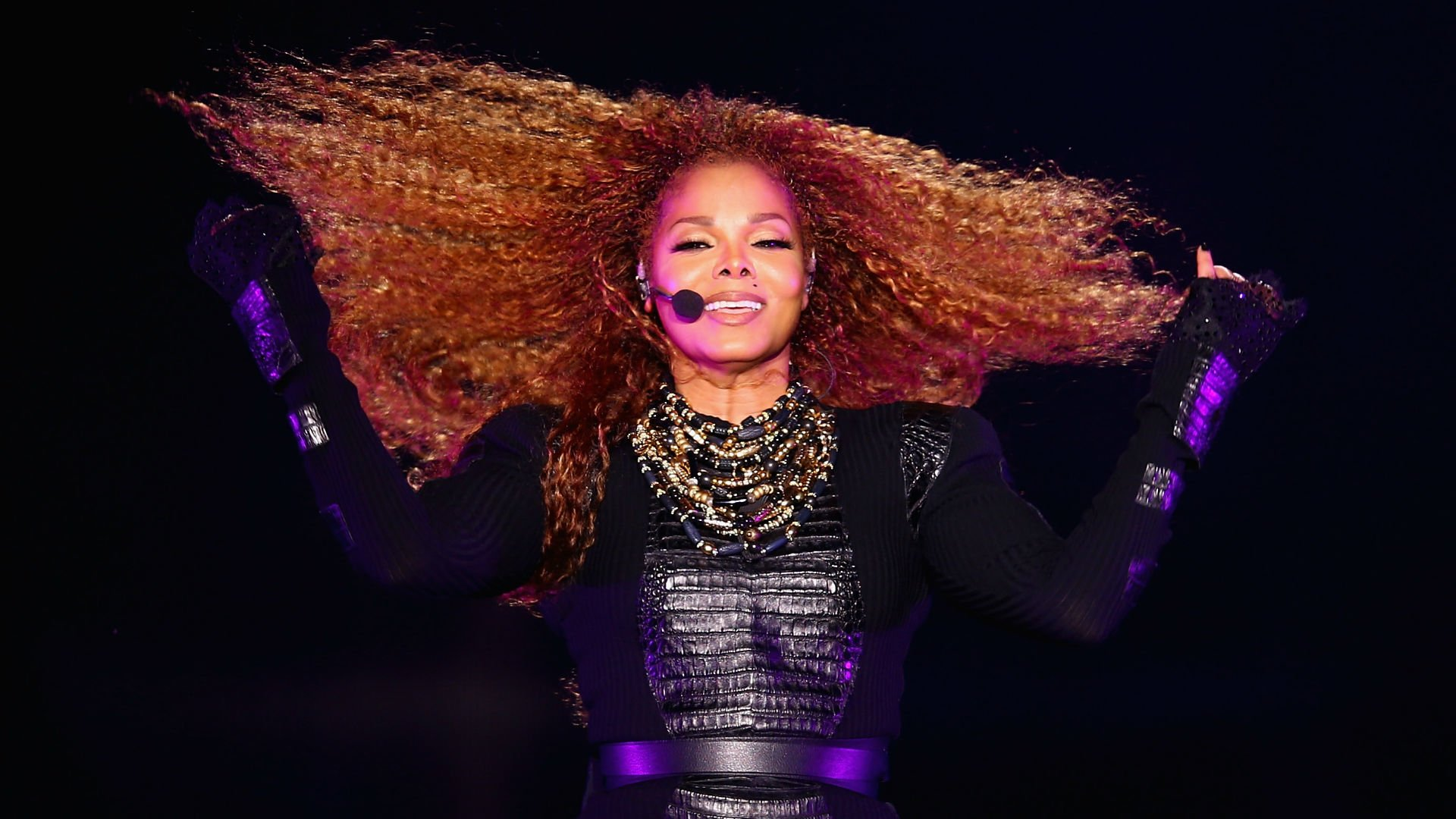 Janet Jackson Full HD Wallpaper And Background Image