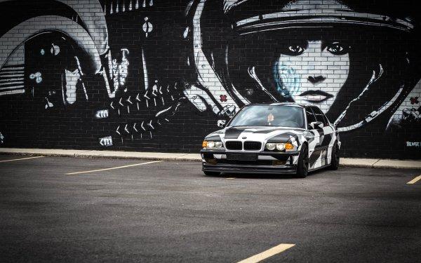 Vehicles BMW 7 Series BMW Car Luxury Car Graffiti HD Wallpaper | Background Image