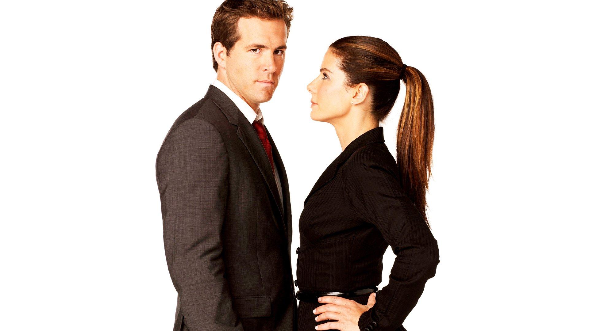 电影 - The Proposal  Ryan Reynolds Sandra Bullock 壁纸