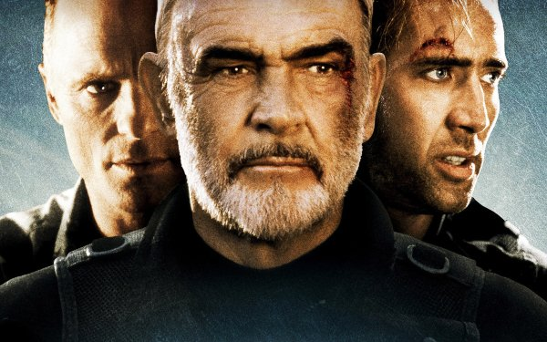 Movie The Rock Nicolas Cage Sean Connery HD Wallpaper | Background Image