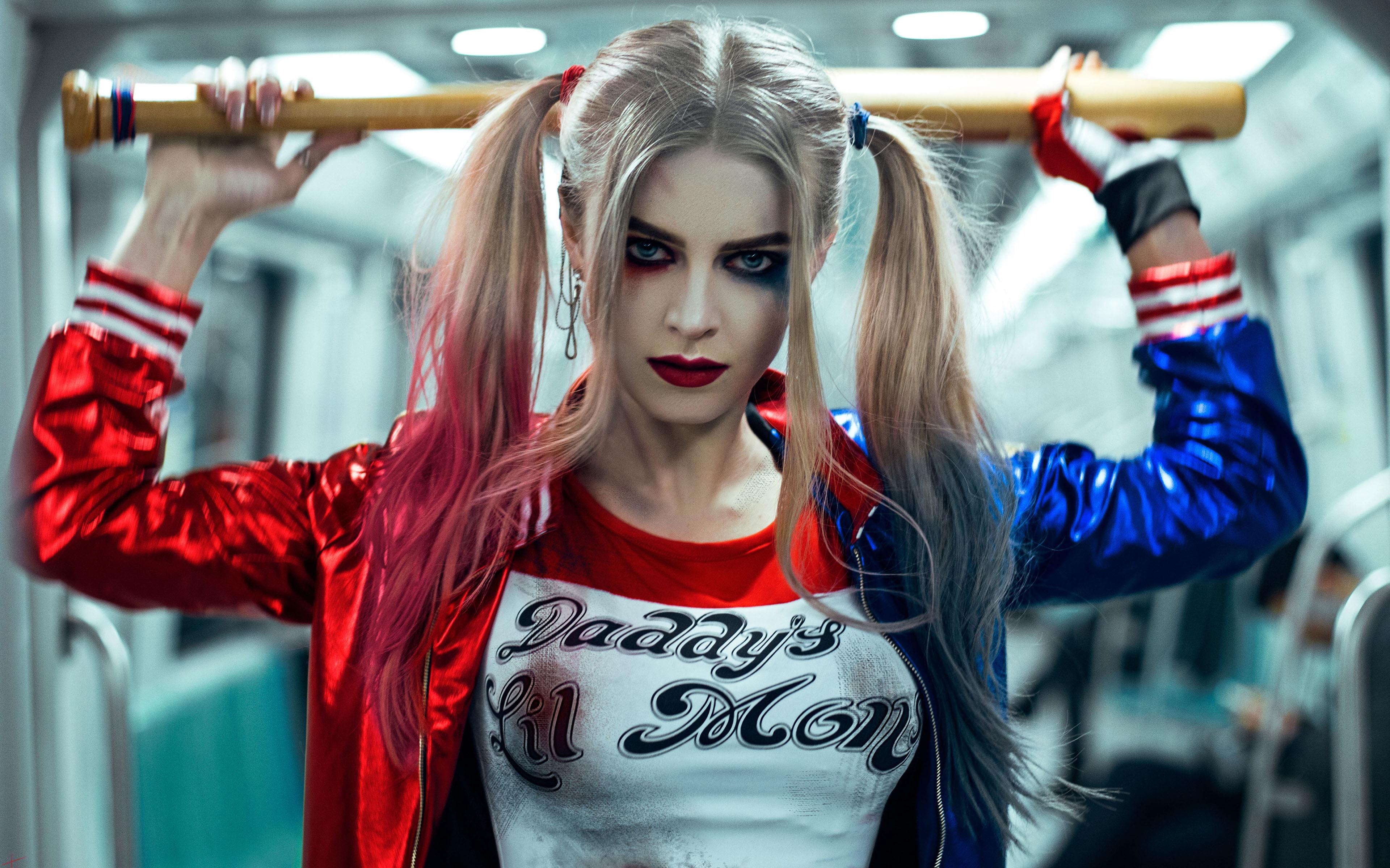 Cosplay Pubg Girl Hd Wallpaper: Harley Quinn 4k Ultra HD Wallpaper