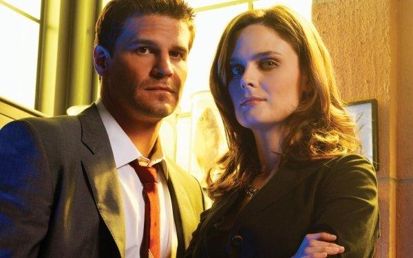 TV Show Bones David Boreanaz Emily Deschanel Seeley Booth Temperance Brennan HD Wallpaper | Background Image