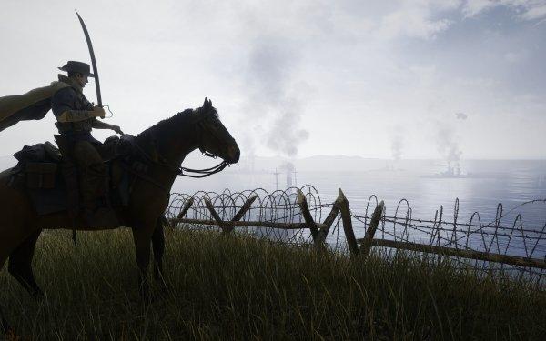 Video Game Battlefield 1 Battlefield Horse Coast Sea Soldier HD Wallpaper | Background Image