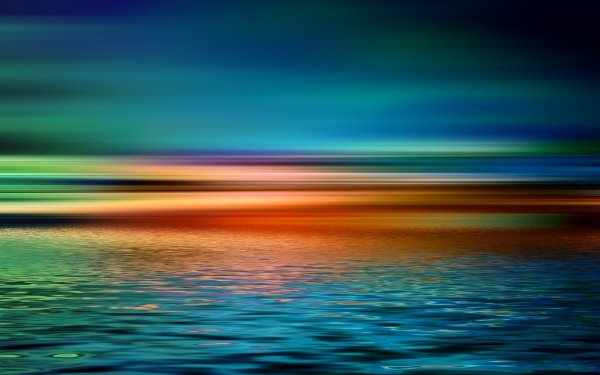 Artistic Sunset Colors HD Wallpaper | Background Image