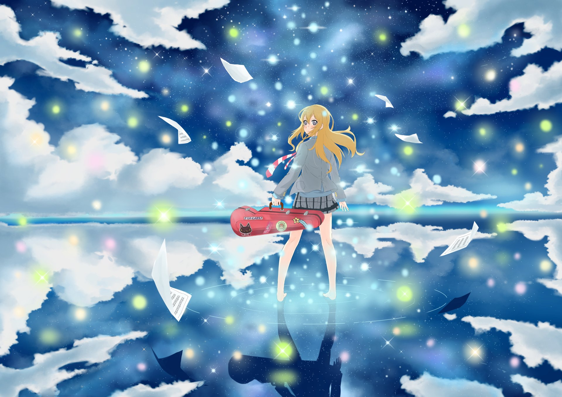 Your Lie in April 4k Ultra HD Wallpaper | Background Image ...