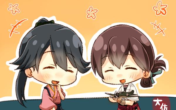 Anime Kantai Collection Houshou Kasuga Maru HD Wallpaper | Background Image
