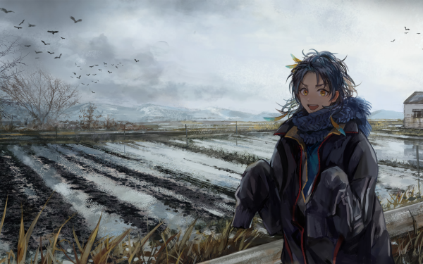 Anime Touken Ranbu Taikogane Sadamune HD Wallpaper | Background Image