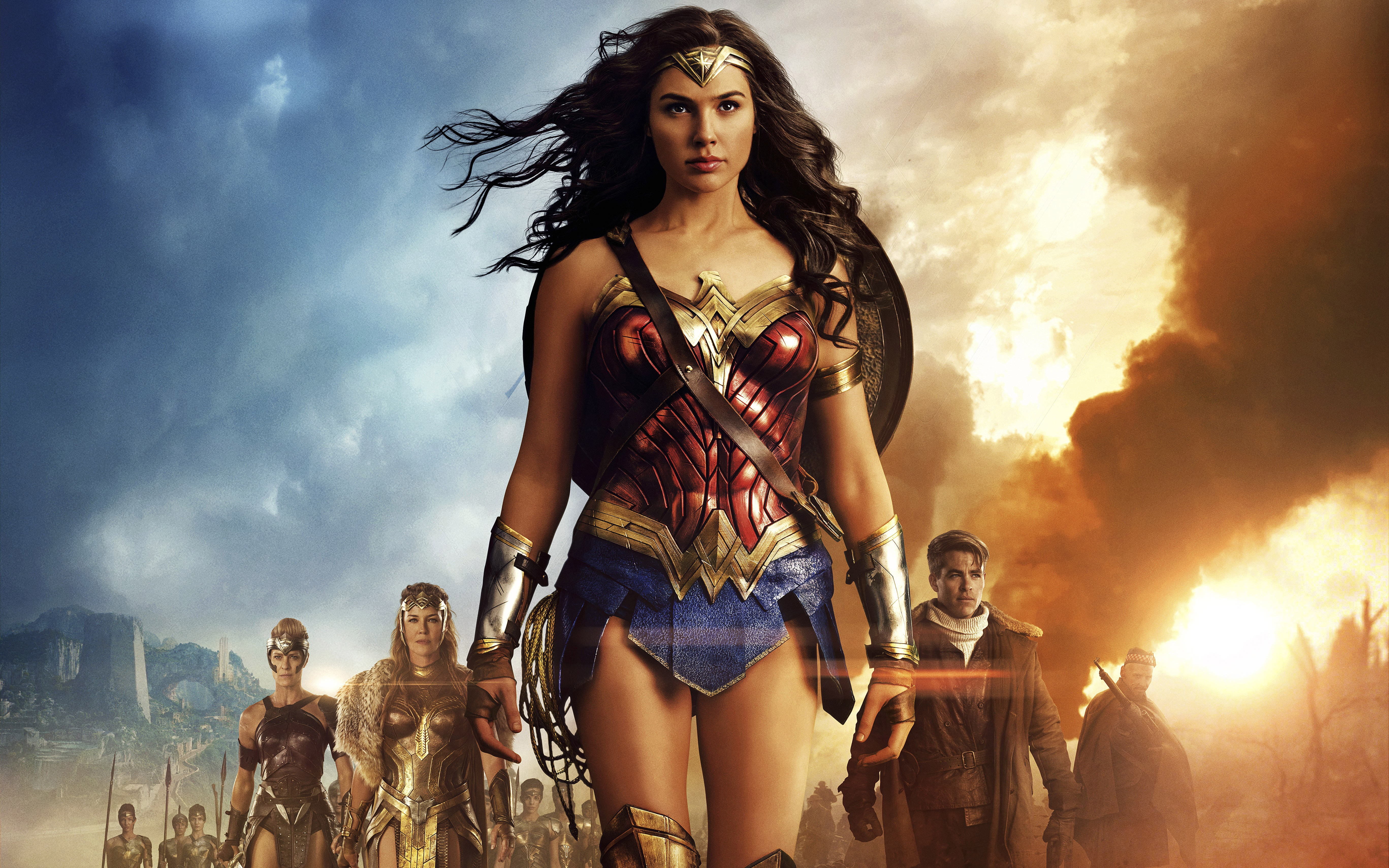 108 Wonder Woman HD Wallpapers Backgrounds Wallpaper Abyss