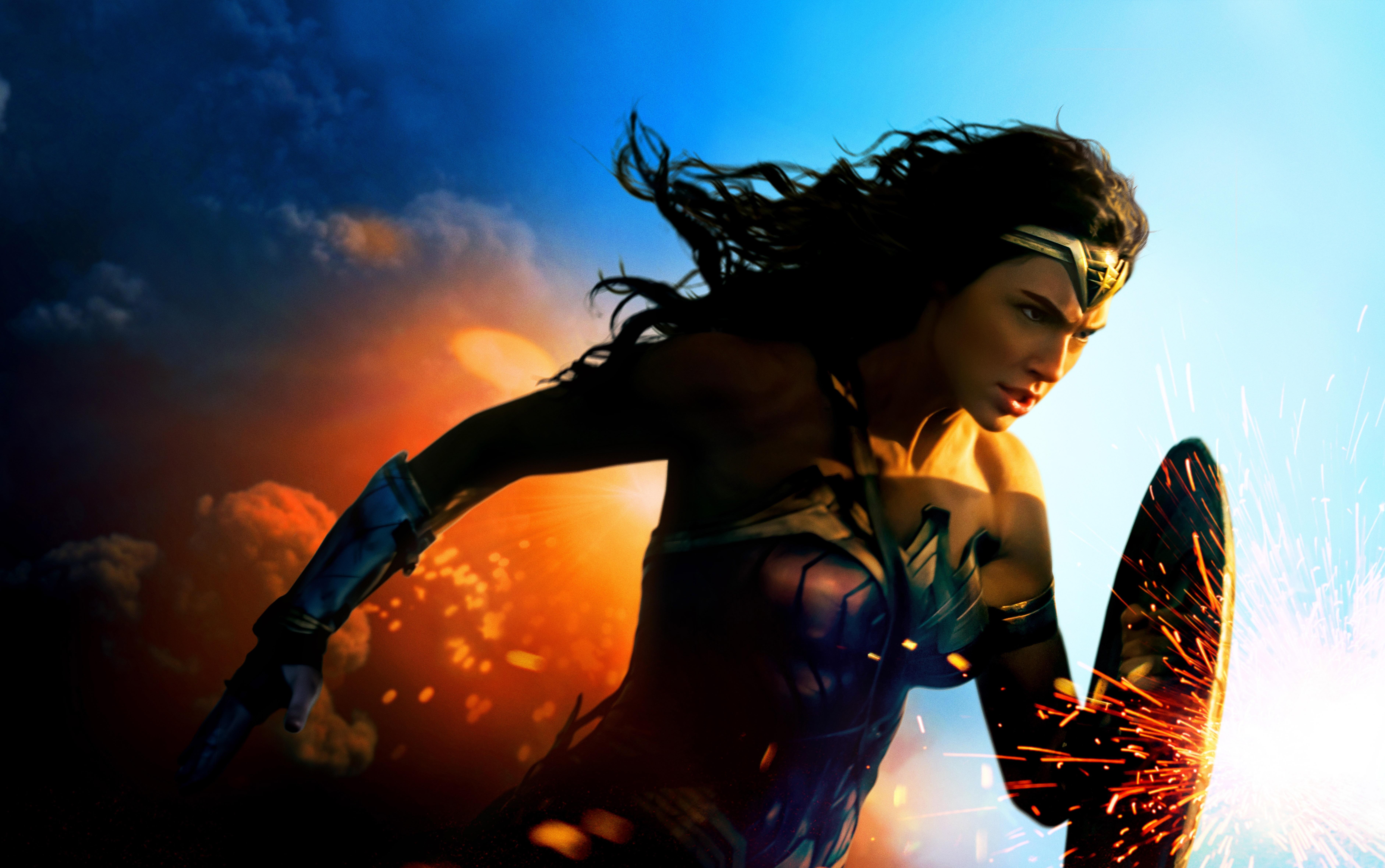 Wonder Woman 5k Retina Ultra Hd Wallpaper Background Image