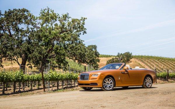 Véhicules Rolls-Royce Dawn Rolls Royce Rolls-Royce Voiture Luxury Car Grand Tourer Orange Car Fond d'écran HD   Image
