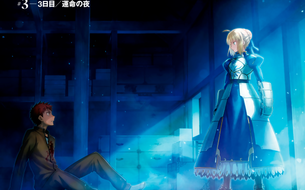 Anime Fate/Stay Night Fate Series Saber Shirou Emiya HD Wallpaper   Background Image