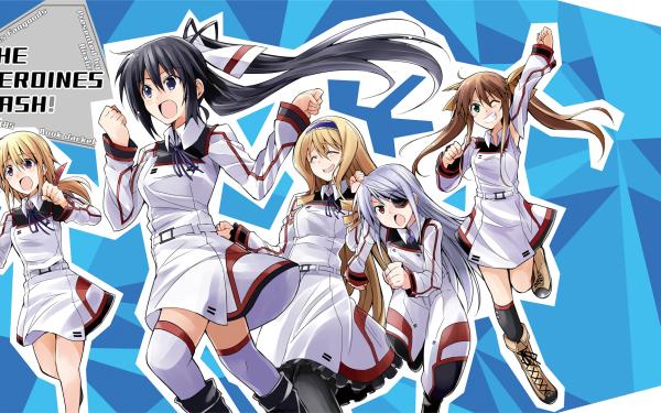 Anime Infinite Stratos Cecilia Alcott Charlotte Dunois Lingyin Huang Laura Bodewig Houki Shinonono HD Wallpaper | Background Image