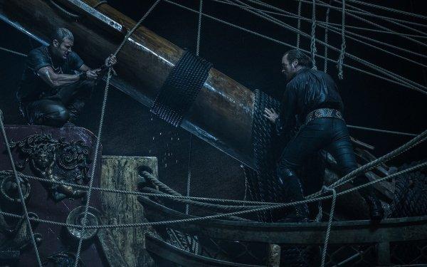 TV Show Black Sails Captain Flint Toby Stephens Billy Bones Tom Hopper HD Wallpaper | Background Image