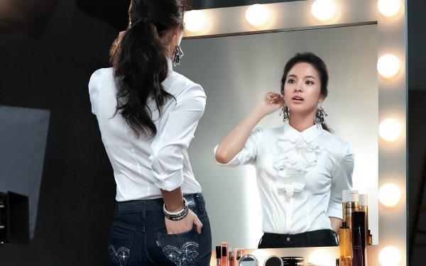 Celebridades Song Hye-Kyo Actrices Corea del Sur Coreano Actress Fondo de pantalla HD | Fondo de Escritorio