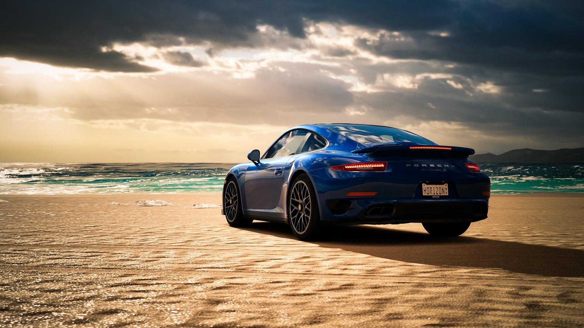 Porsche Hd Wallpapers 1080p: Porsche 911 Turbo HD Wallpaper