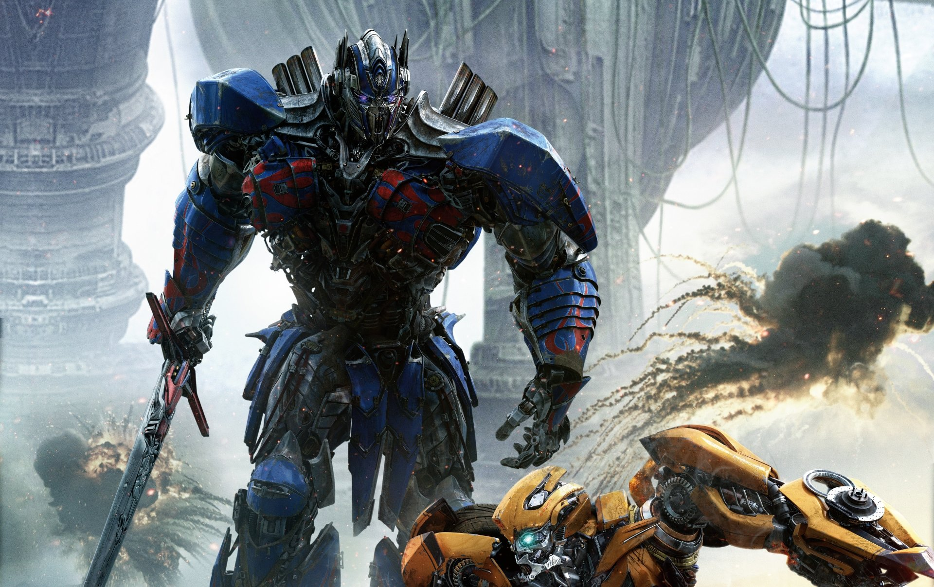 Movie - Transformers: The Last Knight  Transformers Optimus Prime Wallpaper