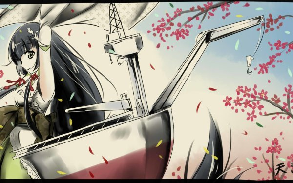 Anime Kantai Collection Mizuho HD Wallpaper | Background Image