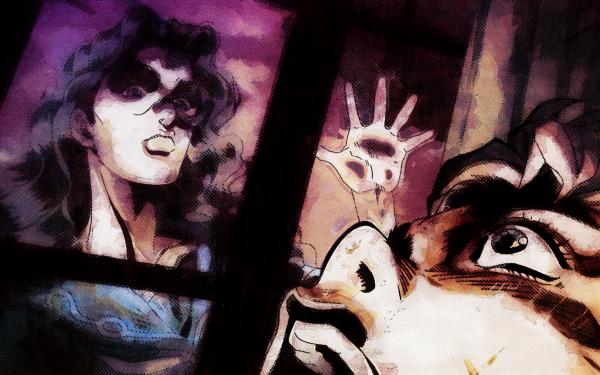 Anime Jojo's Bizarre Adventure Yukako Yamagishi Koichi Hirose HD Wallpaper   Background Image