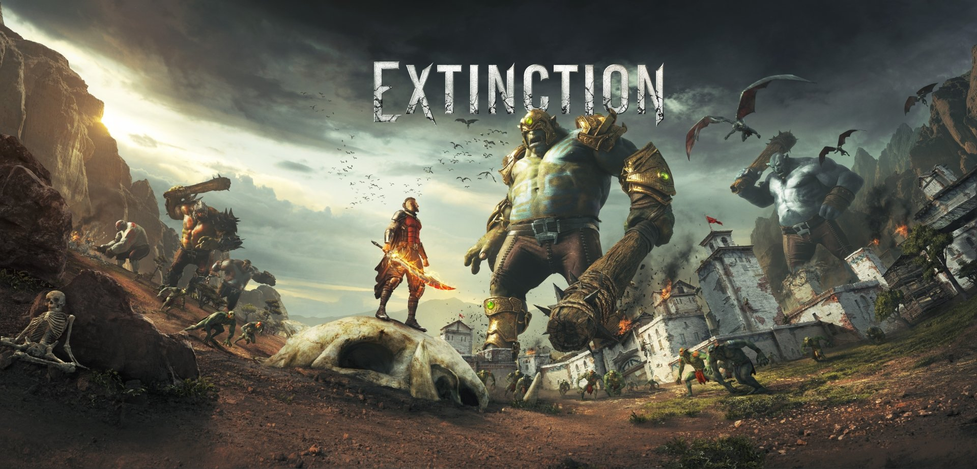 Video Game - Extinction  Sword Warrior Giant Orc Extinction (Video Game) Wallpaper