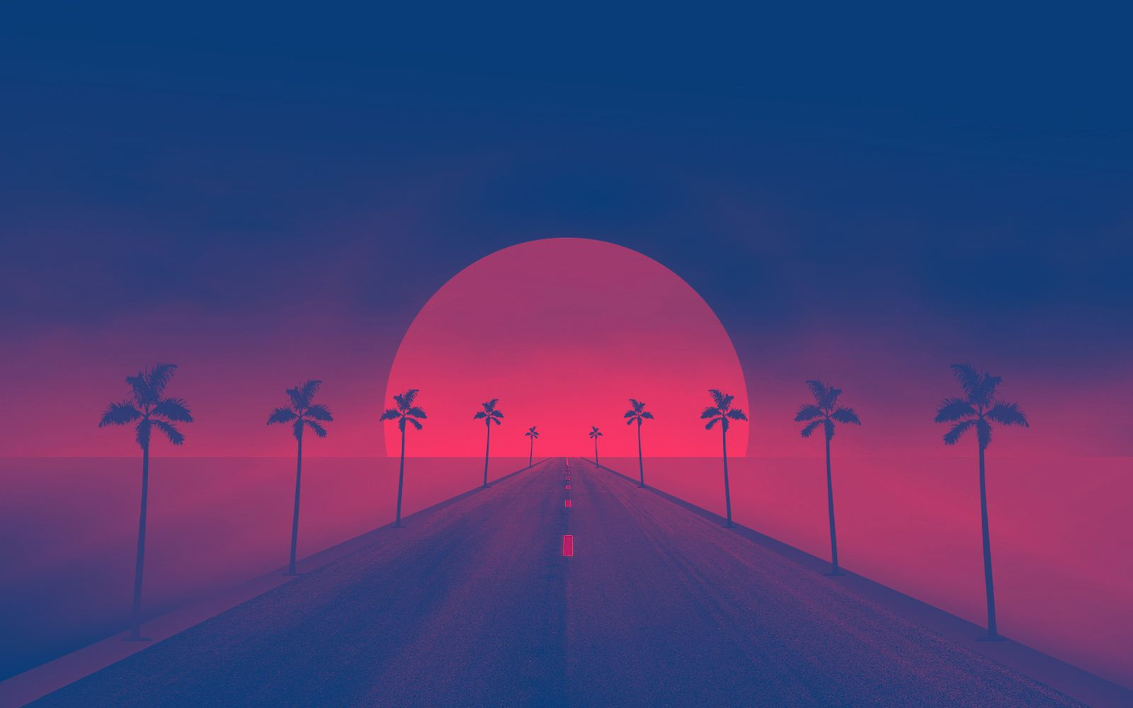 retro wave wallpaper and background image 1600x1000 id