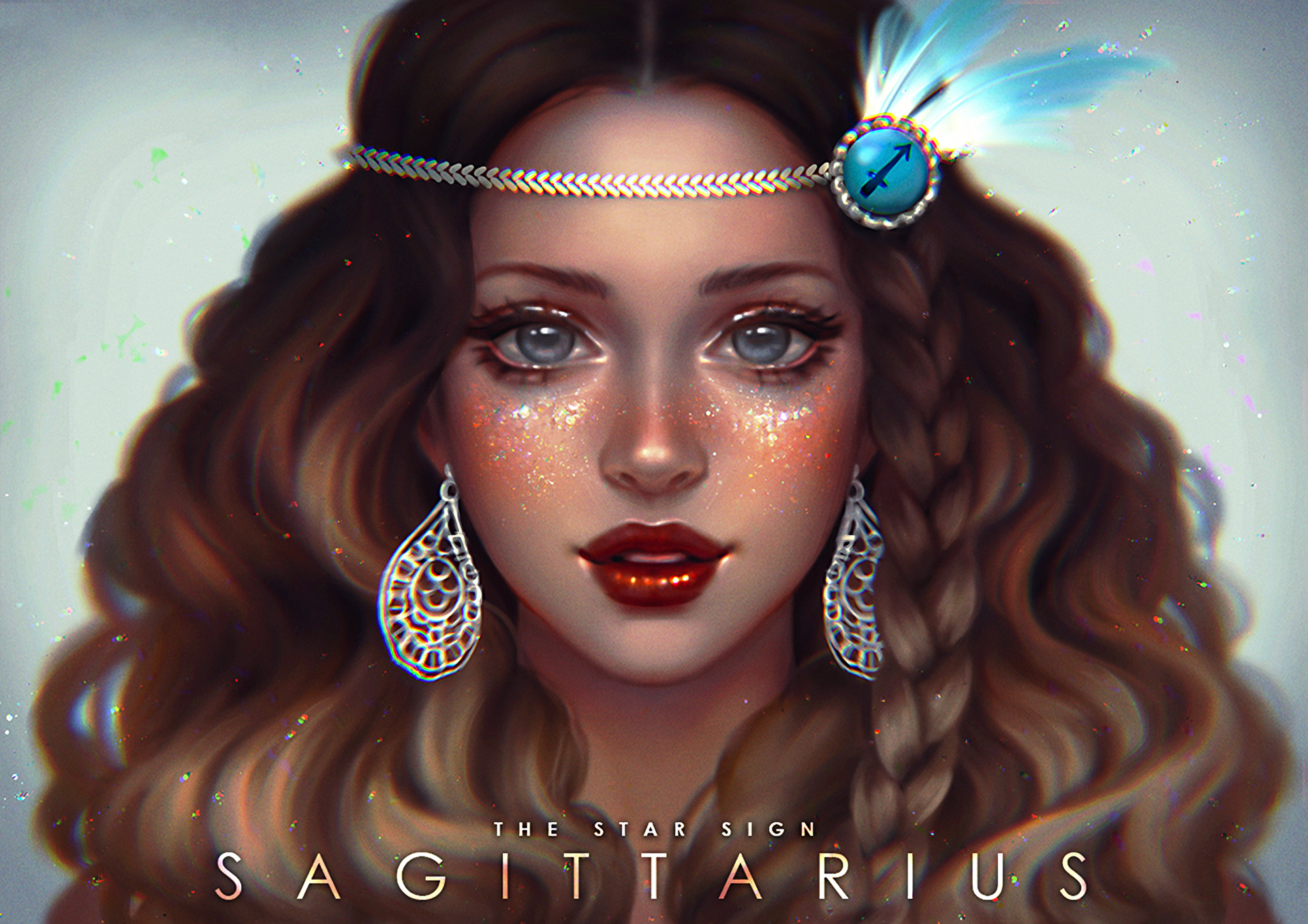 Sagittarius Fantasy Girl Hd Wallpaper Background Image 1920x1357