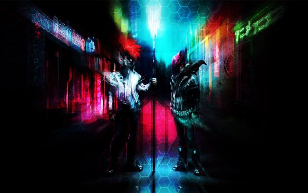 Music Scandroid Band (Music) United States Neon Retro Wave Klayton HD Wallpaper | Background Image