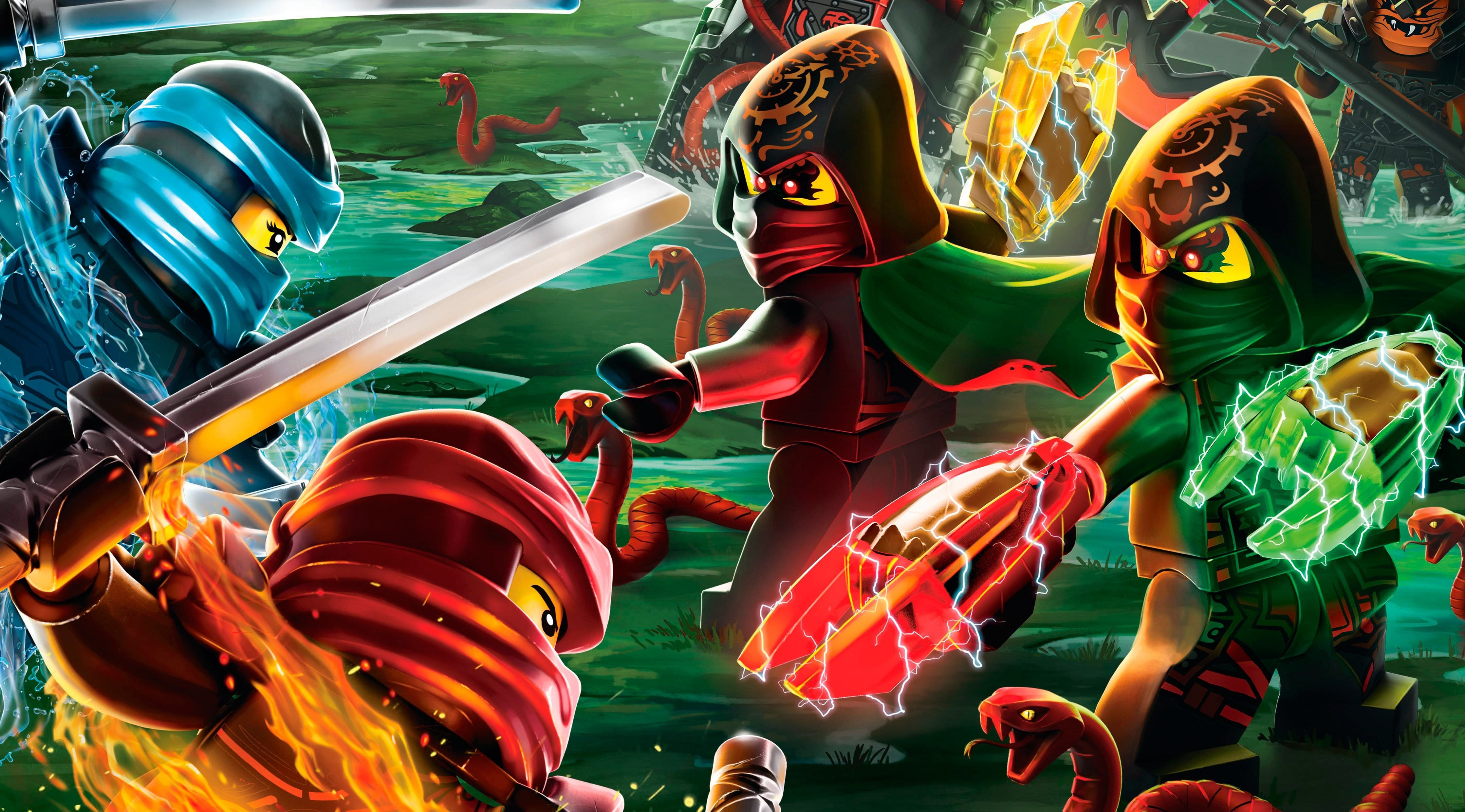 The lego ninjago movie 4k ultra hd wallpaper and background image movie the lego ninjago movie lego ninjago masters of spinjitzu lego wallpaper voltagebd Image collections