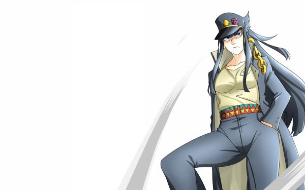 Anime Crossover Jojo's Bizarre Adventure Satsuki Kiryūin Kill La Kill HD Wallpaper | Background Image