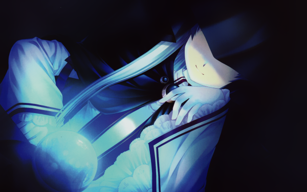 Anime Rewrite Akane Senri HD Wallpaper | Background Image
