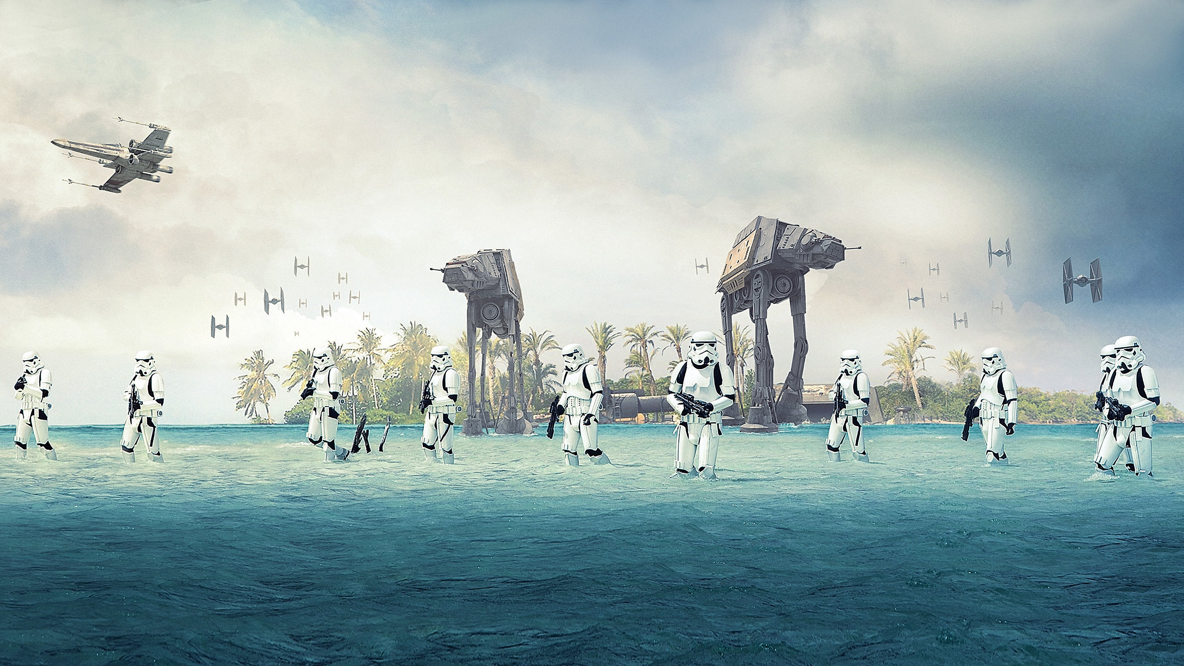 Rogue One A Star Wars Story 4k Ultra Hd Wallpaper Hintergrund
