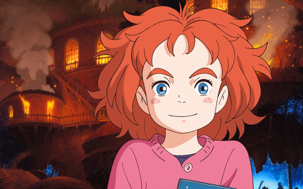 Anime Mary and the Witch's Flower Mary HD Wallpaper | Background Image