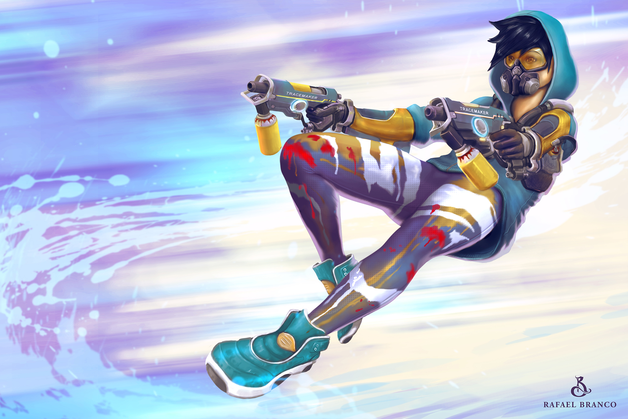 overwatch agent tracer wallpapers - photo #20