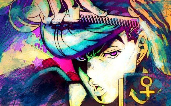Anime Jojo's Bizarre Adventure Josuke Higashikata HD Wallpaper   Background Image