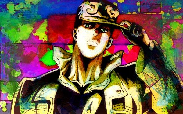Anime Jojo's Bizarre Adventure Jotaro Kujo HD Wallpaper   Background Image