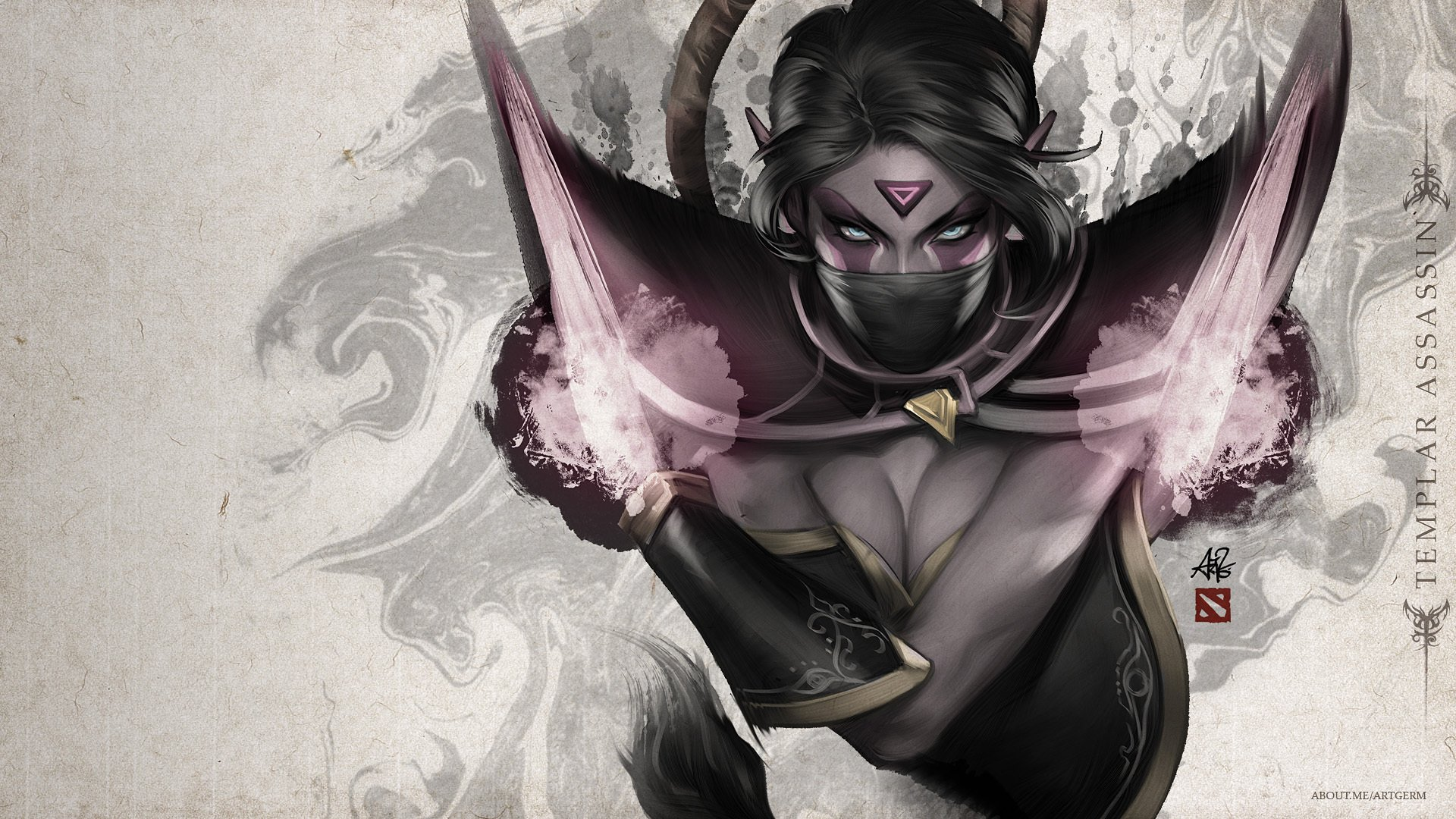 14 Templar Assassin Dota 2 Hd Wallpapers Background Images