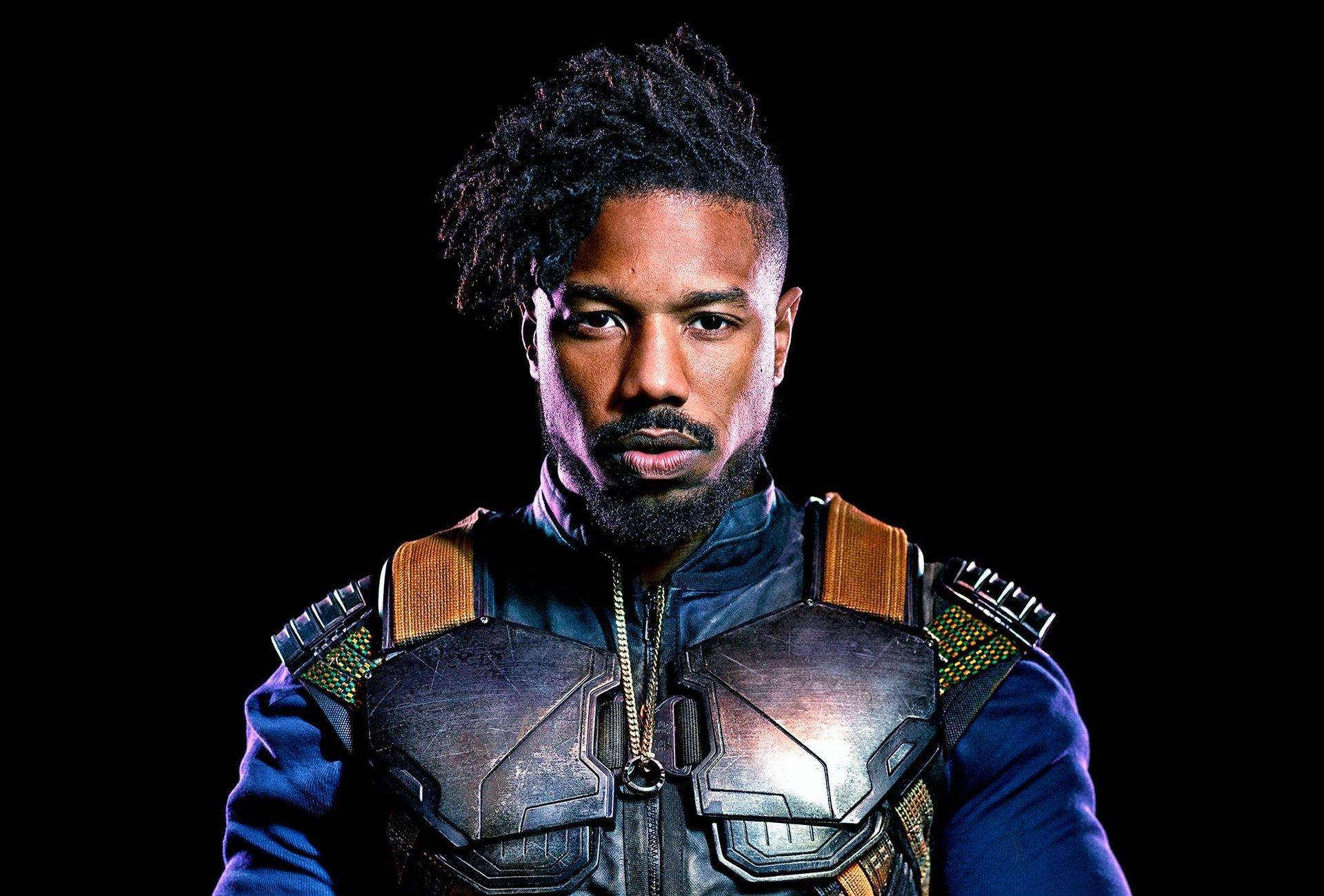Movie - Black Panther  Erik Killmonger Michael B. Jordan Wallpaper
