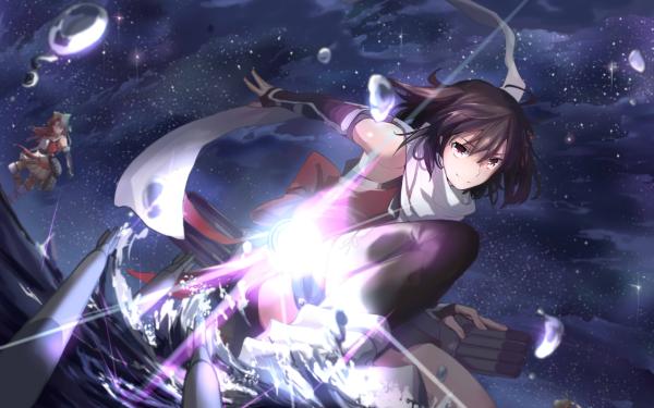 Anime Kantai Collection Naka Sendai Jintsu HD Wallpaper | Background Image