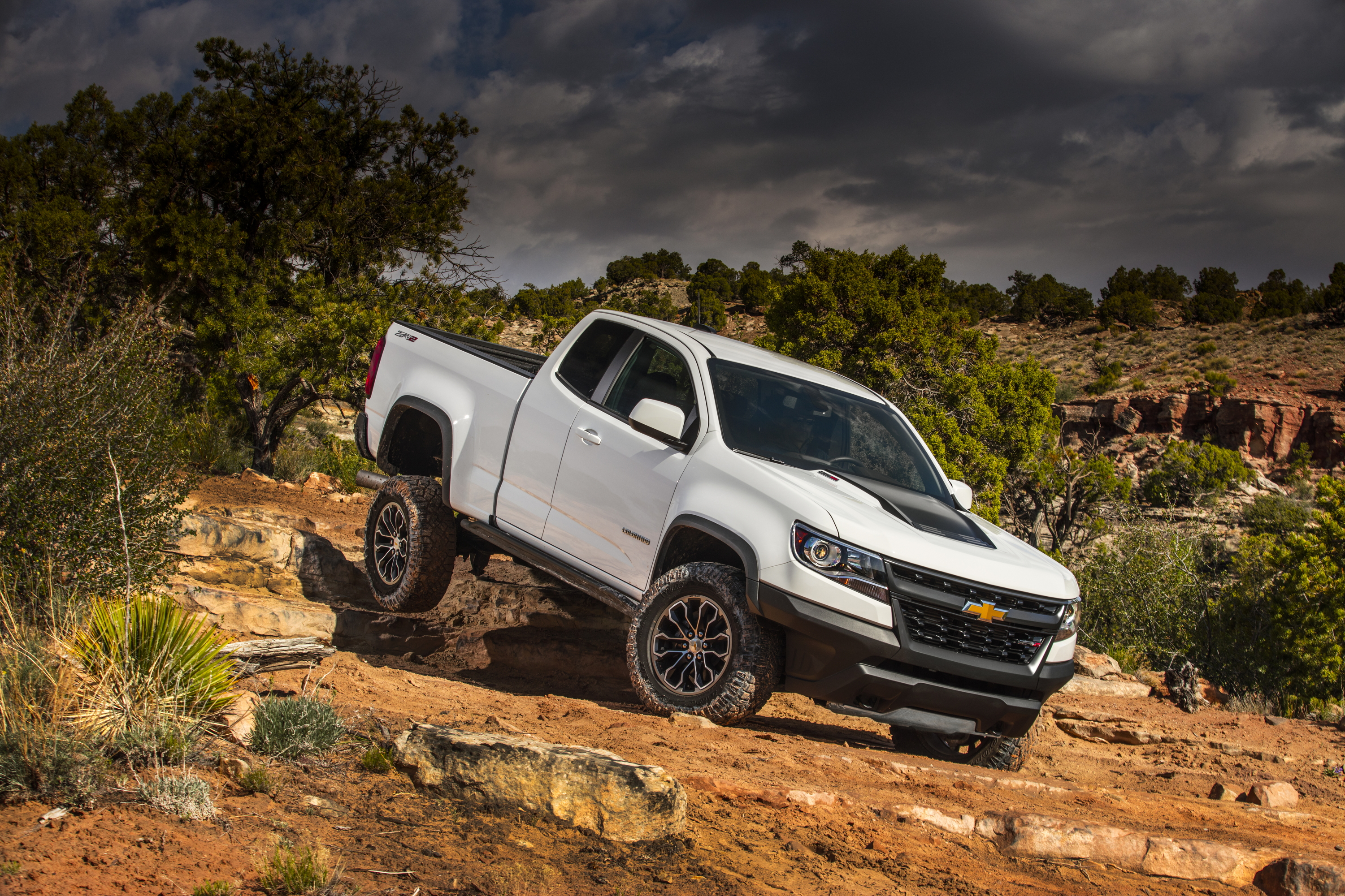 11 Chevrolet Colorado ZR2 HD Wallpapers | Background ...