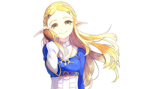 Video Game The Legend of Zelda: Breath of the Wild Zelda Blonde HD Wallpaper | Background Image
