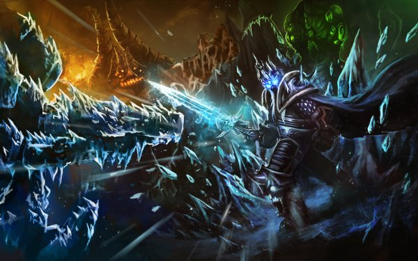 Video Game Heroes of the Storm Azmodan Abathur HD Wallpaper | Background Image