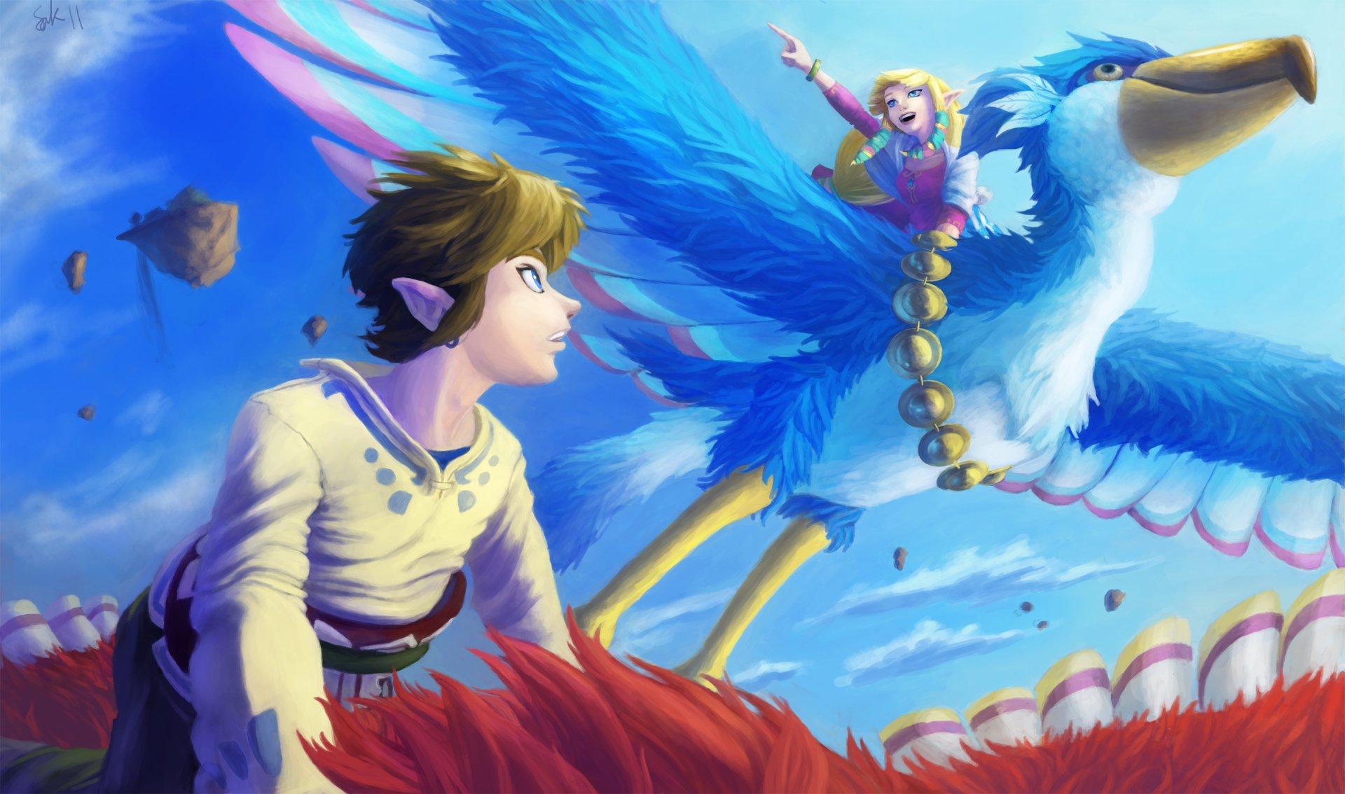 Video Game - The Legend Of Zelda: Skyward Sword  Zelda Link Wallpaper
