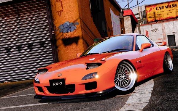 Video Game Grand Theft Auto V Grand Theft Auto Car Mazda Mazda RX-7 HD Wallpaper | Background Image