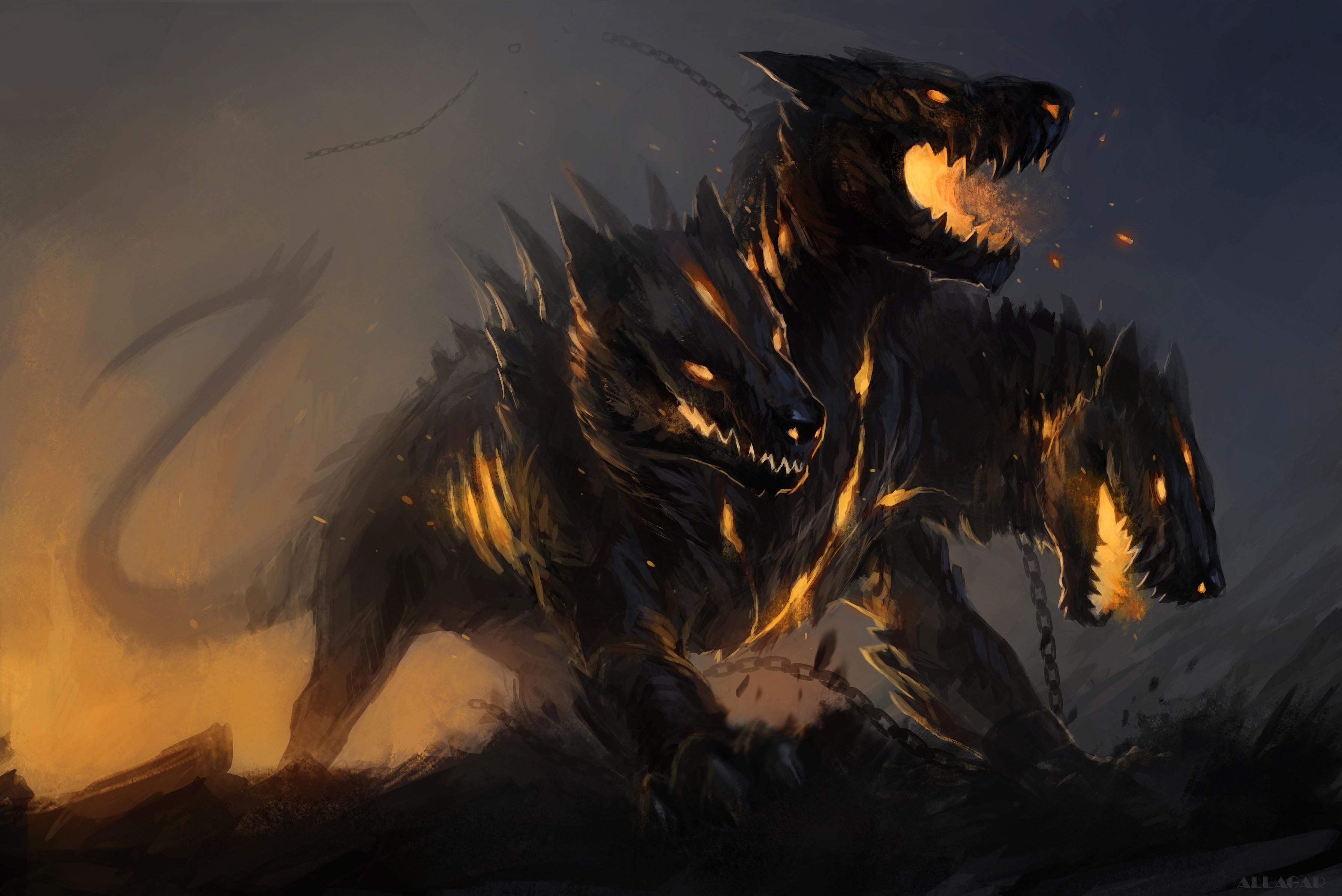 Mythical Black Dog Names